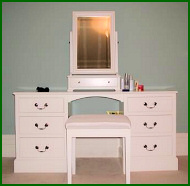 Hand Built Bedroom Dressing Table