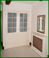 Bespoke Bedroom Wardrobe & Radiator Cover