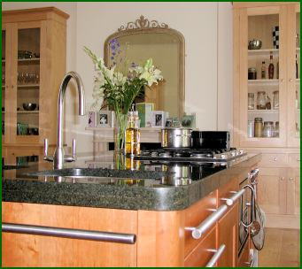 Impressive Hand Built Kitchen Island and Hand Built Furniture