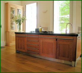 Impressive Hand Built Kitchen Islands