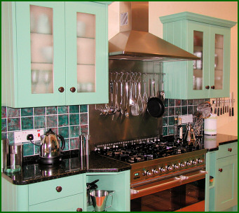 The Painted Shaker Range of Hand Built Kitchens